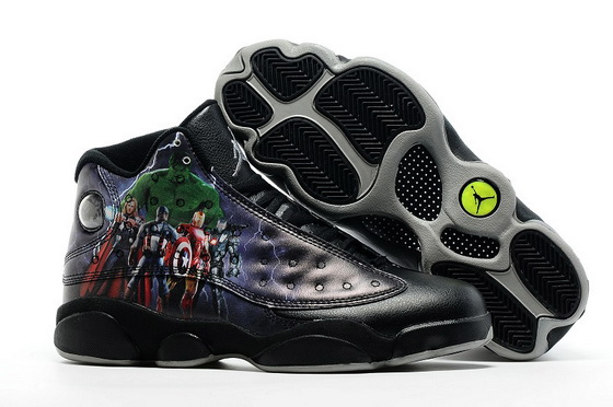 "Air Jordan 13 ""The Avengers"" Shoes Black/Super hero"